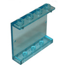 LEGO Transparent Light Blue Panel 1 x 4 x 3 without Side Supports, Hollow Studs (4215 / 30007)