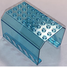 LEGO Transparent Light Blue Panel 6 x 8 x 4 Fuselage with Sticker from Set 7894