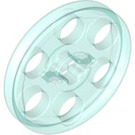 LEGO Transparent Light Blue Wedge Belt Wheel (2786 / 4185)