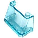 LEGO Transparent Light Blue Windscreen 2 x 4 x 2 (3823 / 35260)