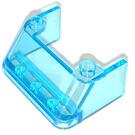 LEGO Transparent Light Blue Windscreen 3 x 4 x 1.33 (2437 / 35243)