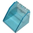 LEGO Transparent Light Blue Windscreen 4 x 4 x 3 with Hinge (2620)