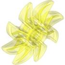 LEGO Transparent Neon Green Propellor 8 Blade 5 Diameter (41530)