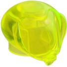 LEGO Transparent Neon Green Round Bubble Helmet (30214)