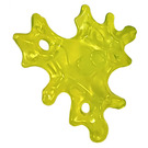 LEGO Transparent Neon Green Slime Blur with Bar End