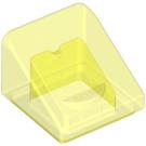 LEGO Transparent Neon Green Slope 31° 1 x 1 (35338 / 50746)