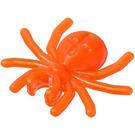 LEGO Transparent Neon Reddish Orange Spider (30238)