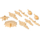 LEGO Transparent Orange Set of Power Burst Parts (35032)