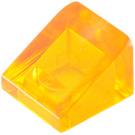 LEGO Transparent Orange Slope 31° 1 x 1 (35338 / 50746)