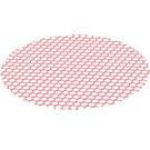 LEGO Transparent Red Round Net (35829)