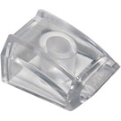 LEGO Transparent Slope 1 x 2 x 2 Curved (28659 / 47904)