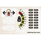 LEGO Transparent Sticker Sheet for Set 4565 (170884)