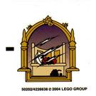 LEGO Transparent Sticker Sheet for Set 4757 (50202)
