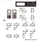LEGO Transparent Sticker Sheet for Set 4867 (98269)