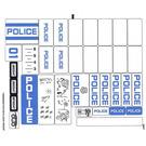 LEGO Transparent Sticker Sheet for Set 60047 (14826)