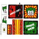 LEGO Transparent Sticker Sheet for Set 6857 (75012)