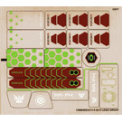LEGO Transparent Sticker Sheet for Set 70703 (13068)