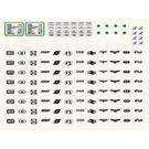 LEGO Transparent Sticker Sheet for Set 7745