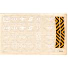 LEGO Transparent Sticker Sheet for Set 7755
