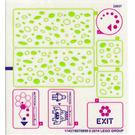 LEGO Transparent Sticker Sheet for Set 79119 (17427)