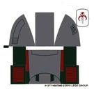 LEGO Transparent Sticker Sheet for Set 8097 (91377)