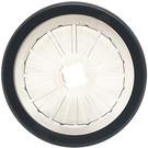 LEGO Transparent Wheelchair Wheel 21 x 2 with Black Tire (24314)