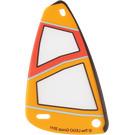 LEGO Transparent Windsurfer Sail (93383)