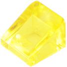 LEGO Transparent Yellow Slope 31° 1 x 1 (35338 / 50746)