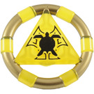 LEGO Transparent Yellow Treasure Ring (89162)