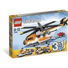LEGO Transport Chopper Set 7345 Packaging