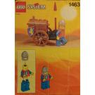 LEGO Treasure Cart Set 1463 Instructions