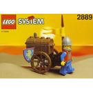 LEGO Treasure Cart Set 2889