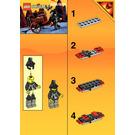 LEGO Treasure Cart Set 6028 Instructions
