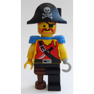 LEGO Treasure Chest Pirate Captain Minifigure