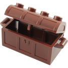 LEGO Treasure Chest with Lid (Thick Hinge with Slots in Back) (4738)