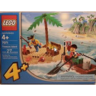 LEGO Treasure Island Set 7071 Packaging