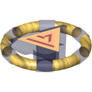 LEGO Treasure Ring with Triangle Pattern (87748 / 94394)