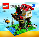LEGO Treehouse Set 31010 Instructions