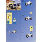 LEGO Tri-motorbike Set 1249 Instructions