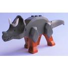 LEGO Triceratops with Dark Orange Legs