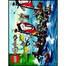 LEGO Troll Warship Set 7048 Instructions