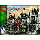 LEGO Trolls' Mountain Fortress Set 7097 Instructions