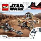 LEGO Trouble on Tatooine Set 75299 Instructions
