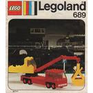 LEGO Truck  Set 689 Instructions