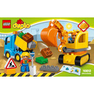 LEGO Truck & Tracked Excavator Set 10812 Instructions