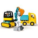 LEGO Truck & Tracked Excavator Set 10931