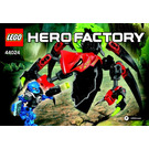 LEGO TUNNELER Beast vs. SURGE Set 44024 Instructions
