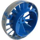 LEGO Turbine Engine with Marbled Blue (59924)