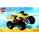 LEGO Turbo Quad Set 31022 Instructions