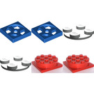LEGO Turntables 4 x 4, Turntables 2 x 2 Set 1203